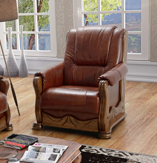 fotel skórzany do salonu
