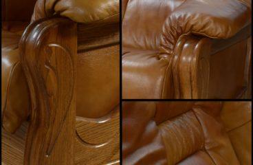 detale skóra dąb zestaw wypocznkowy