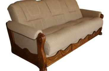 kanapa z tkaniny