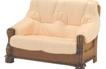 skórzana sofa adam 2 osobowa