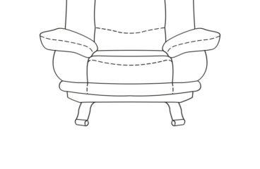 skórzany fotel alaska iii wymiary