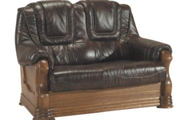 skórzana sofa aneta ii 2 osobowa