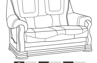 skórzana sofa aneta ii wymiary