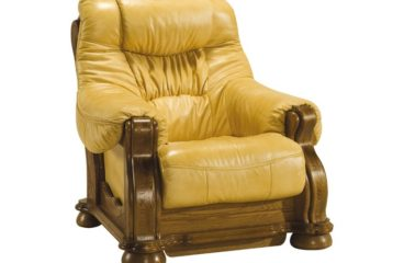 skórzany fotel cezar i