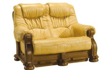 skórzana sofa cezar i 2 osobowa