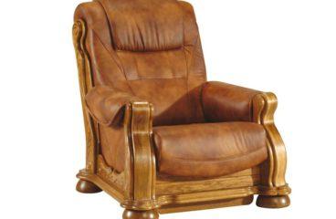 skórzany fotel cezar ii