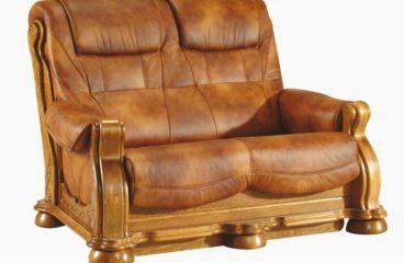 skórzana sofa cezar ii 2 osobowa
