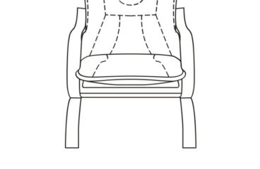 skórzany fotel finka z listwą wymiary