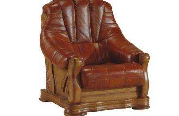 skórzany fotel fryderyk ii