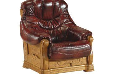 skórzany fotel kevin