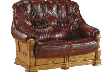 skórzana sofa kevin 2 osobowa