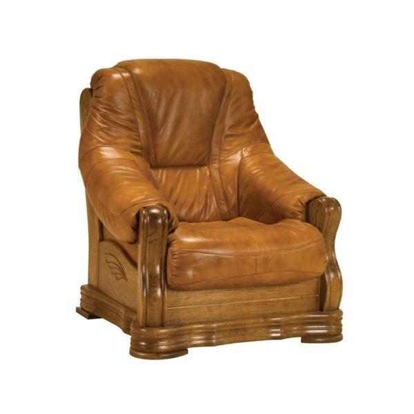 skórzany fotel sonia