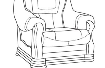 skórzany fotel aneta II wymiary
