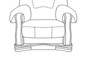 skórzany fotel cezar i wymiary